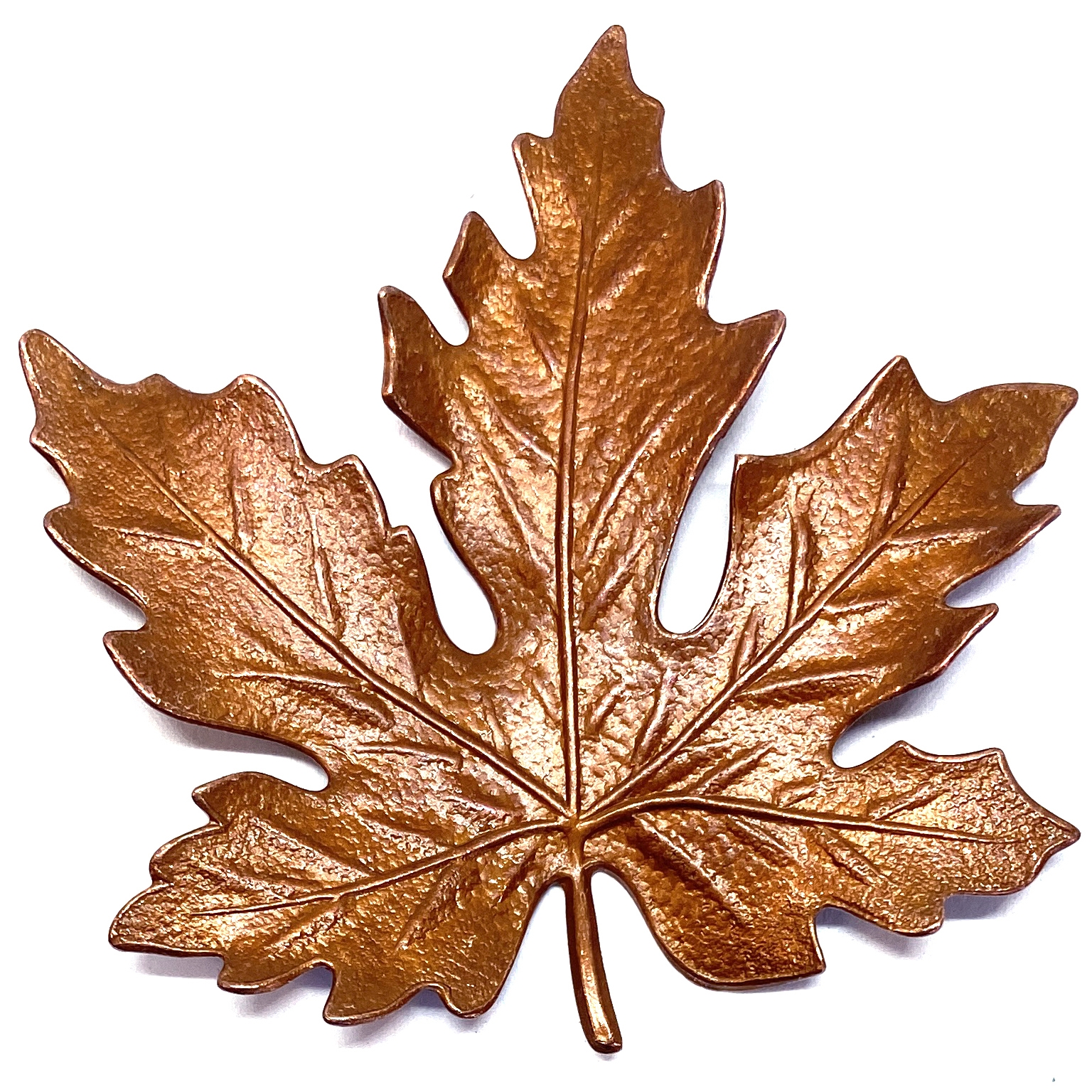 brass leaves, maple leaves, 55mm, 03947, brass ox, black antiquing, antique brass, leaf stampings, jewelry supplies, jewelry making, brass jewelry parts, B'sue Boutiques, US Made, nickel free, vintage jewelry supplies,