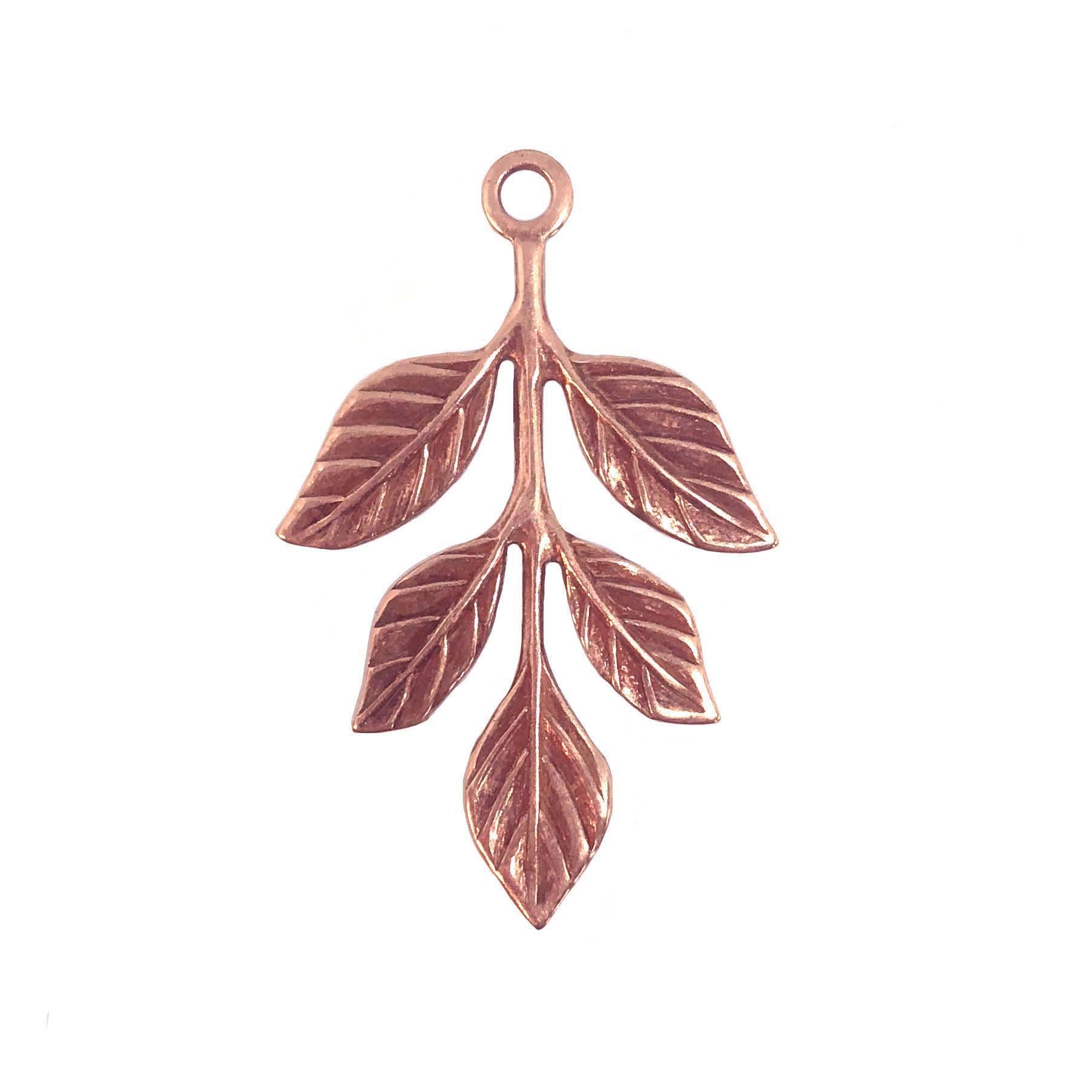 copper ox leaves, leaf, 04245, brass leaves, leaves, bsue boutiques, jewelry making, jewelry supplies, vintage, vintage stamping, stamping, leaf stamping, copper ox, charm, pendant, leaf pendant, leaf charm