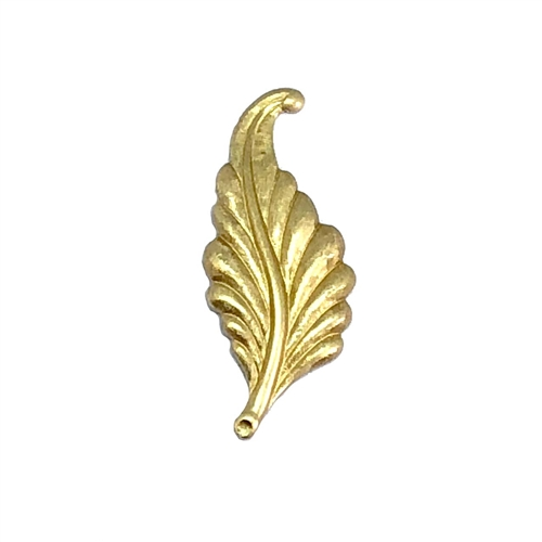 brass leaves, leaf stampings, raw brass, 04563, B'sue Boutiques, nickel free, US Made, jewelry findings, jewelry supplies, leaf findings, jewelry making, brass jewelry parts, vintage jewelry supplies