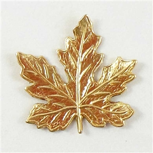 brass leaves, jewelry making, raw brass, 04601, B'sue Boutiques, nickel free jewelry supplies, US made jewelry supplies, vintage jewellery supplies, altered art jewelry, maple leaves, antique brass, 21mm