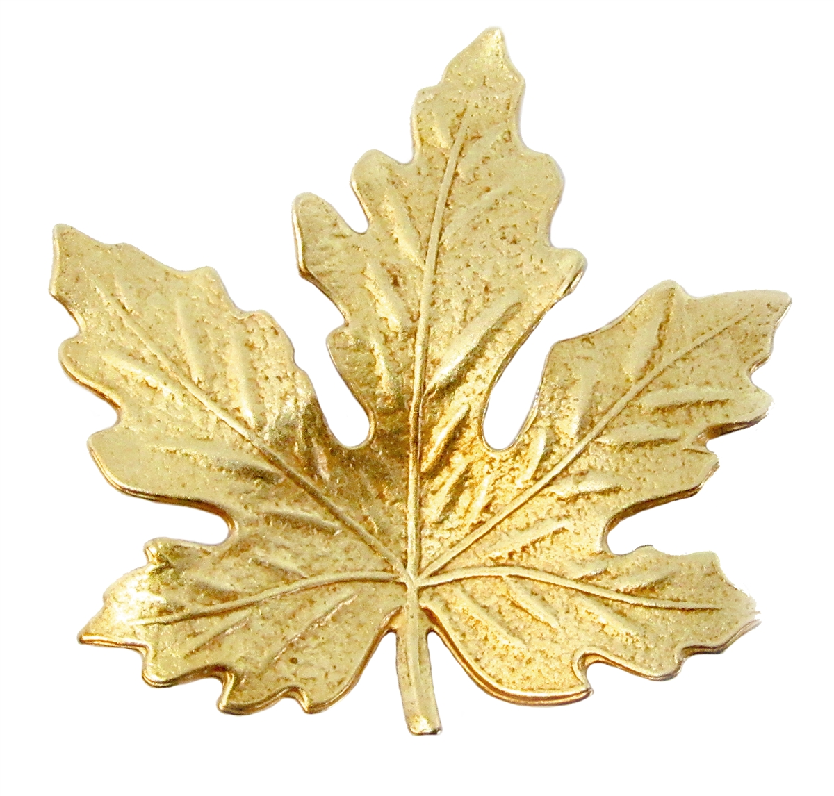 Maple Leaf Stamping Clic Gold Antique Br Stampings Leaves 41x41mm