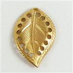 brass leaves, caging leaves, jewelry making, raw