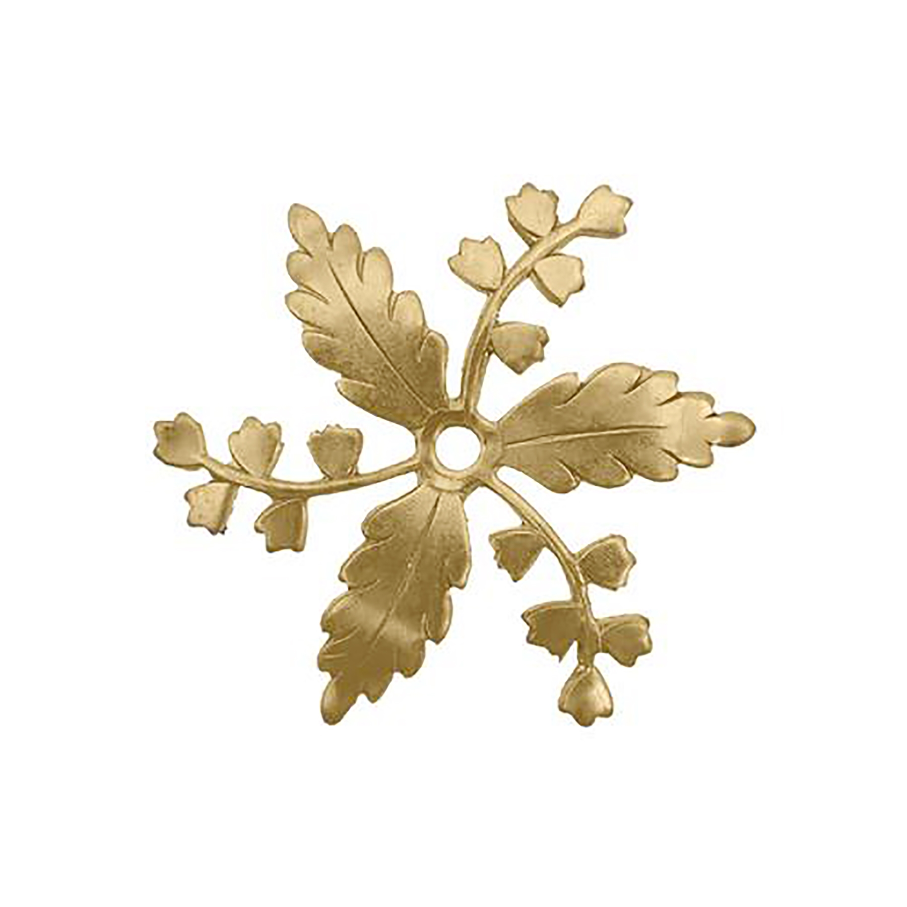 brass leaves, caging leaves, jewelry making, raw brass jewelry, 06262, B'sue Boutiques, nickel free jewelry, US made brass jewelry, beading supplies, drilled leaves, beading leaves, vintage jewellery supplies,