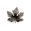 brass leaves, maple leaves, jewelry supplies,0692, 41mm, B'sue Boutiques, US Made jewelry supplies, jewelry making supplies, nickel free jewelry supplies, vintage jewellery supplies, rusted iron brass, antique copper