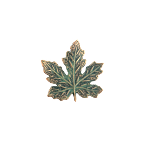 maple leaf, brass leaves, maple, aqua copper patina,  brass maple leaves, brass stamping, aqua, copper, 21x21mm, us made, nickel free, b'sue boutiques, jewelry making, jewelry findings, vintage supplies, jewelry supplies, 08232