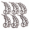 filigree leaves, curved leave, rusted iron, 08616, plume shaped leaves, vintage jewelry supplies, jewelry making supplies, B'sue Boutiques, nickel free, jewelry supplies, us made, beading supplies, leaves