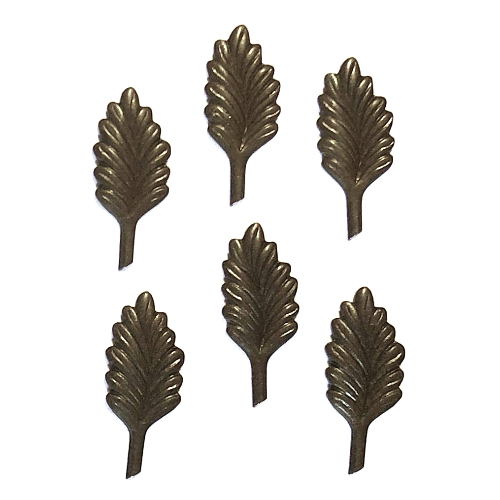 brass leaves, leaf stems, chocolate brass, 09971, vintage jewelry supplies, jewelry making supplies, accent leaves, leaf stampings, US made, nickel free, bsueboutiques
