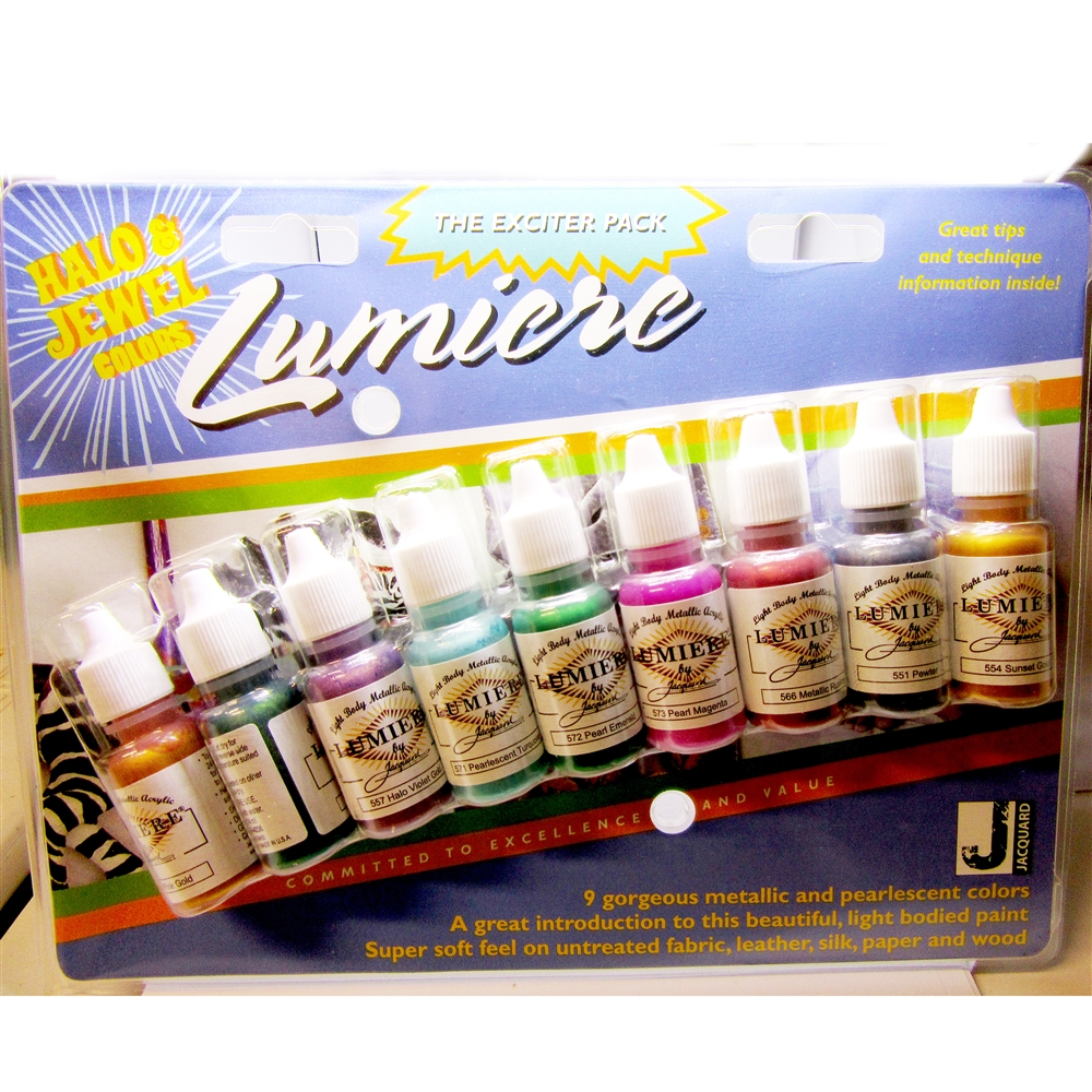 Lumiere Paints, halo and jewel paints, 05052, pearlescent paints, jewelry making supplies, paint supplies, metal painting, US made paint supplies, bsue boutiques, acrylic paints, metal paints
