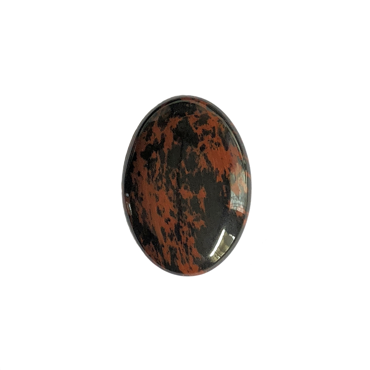 Resin Cabochons 25X18mm Cameos Matte Red Brown Oval Flowers and Leaves