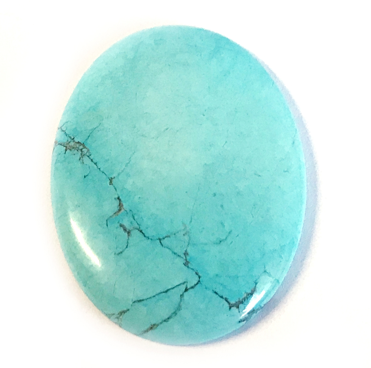 Turquoise dyed Howlite