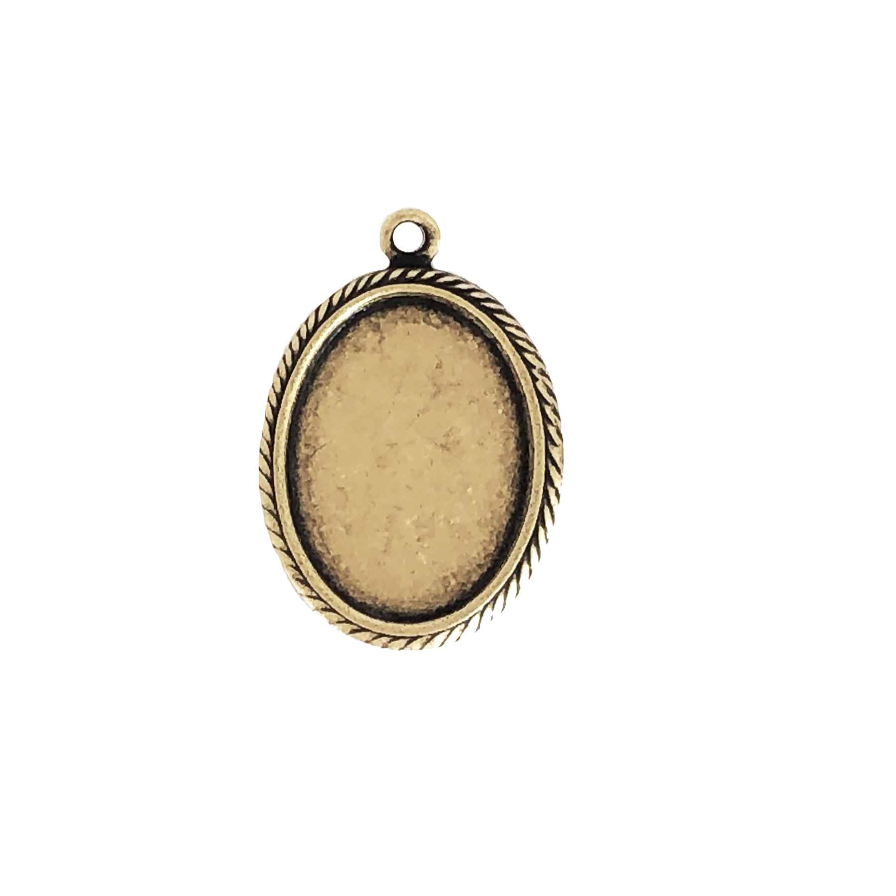Brass Mount, Cameo Mount, Antique Brass, Bezel, Mount, Pendent Style, Brass Ox, Brass Stamping, 13 x 10mm, Earring, Jewelry Findings, Nickel Free, Made in USA, B'sue Boutiques, Earring drop, 0700