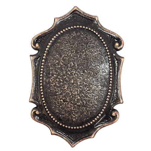 brass stampings, mount, rusted iron, 08608, antique copper accents, vintage jewelry supplies, US made jewelry supplies, B'sue Boutiques, medieval style mounts, ceralun, brass bezels, jewelry findings