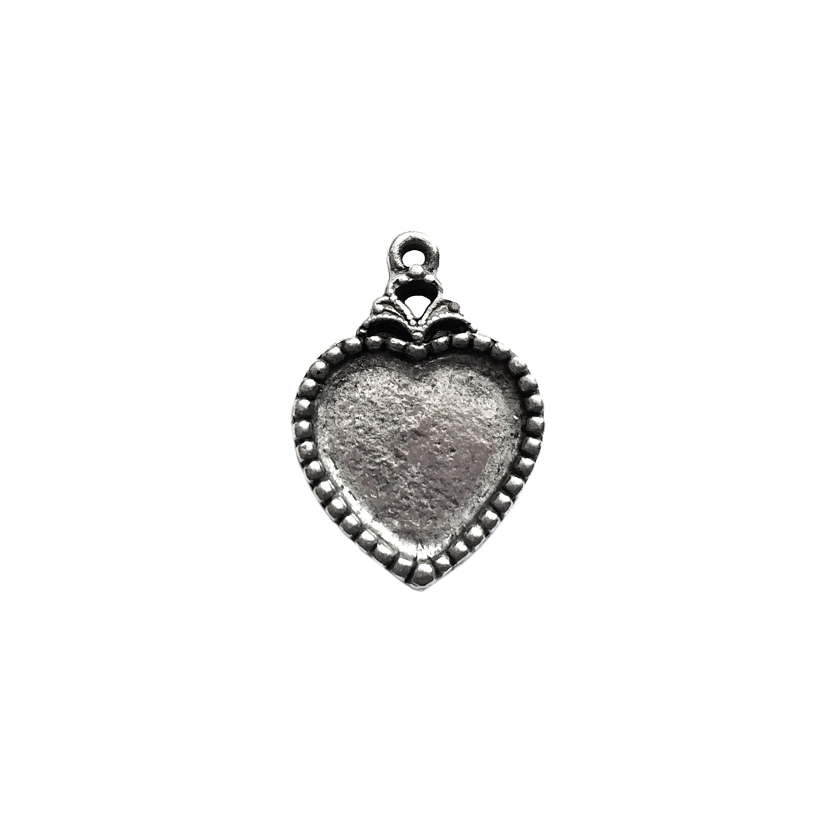 charm vintage sue b old mount pendants castings necklace larger email a friend heart p htm by silver pewter photo
