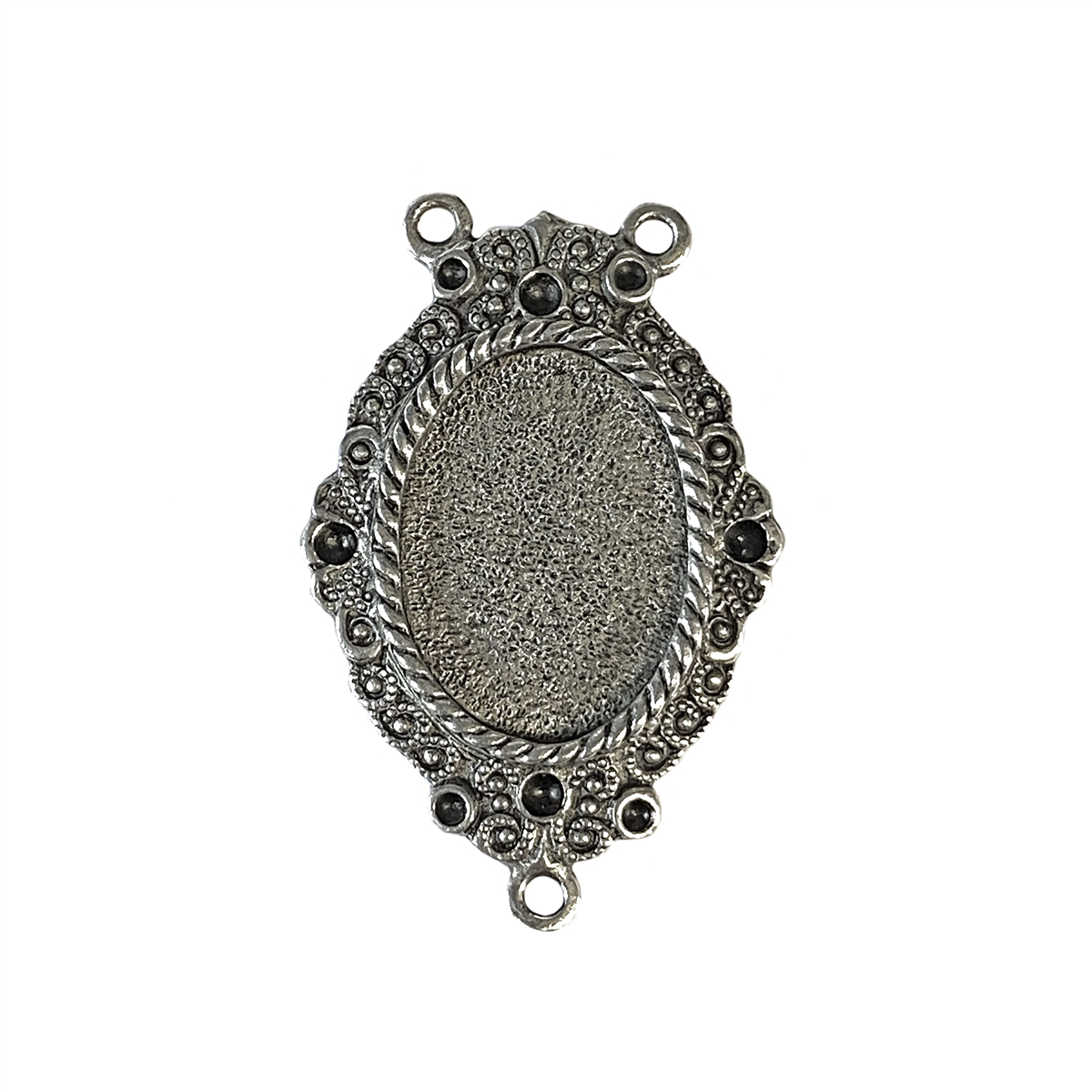 Old silver pewter victorian pendant 01012 lead free pewter b larger photo mozeypictures Gallery