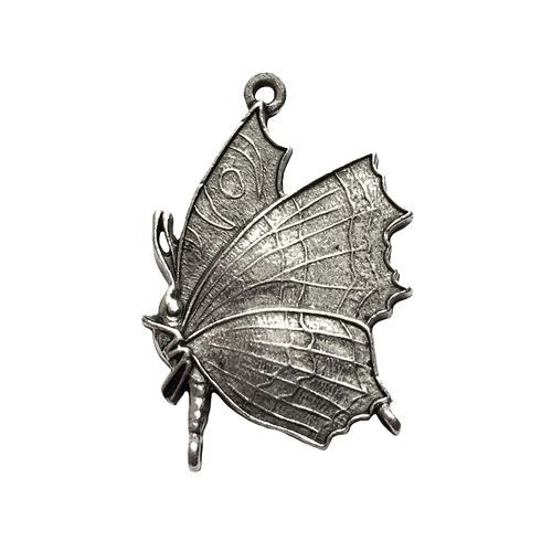 butterfly charm, butterfly, old silver, lead free pewter castings, B'sue by 1928, 1928 Company, designer jewelry findings, vintage jewelry parts, 1928 Jewelry, charm, B'sue Boutiques, vintage French findings, us made, pendent, 01013