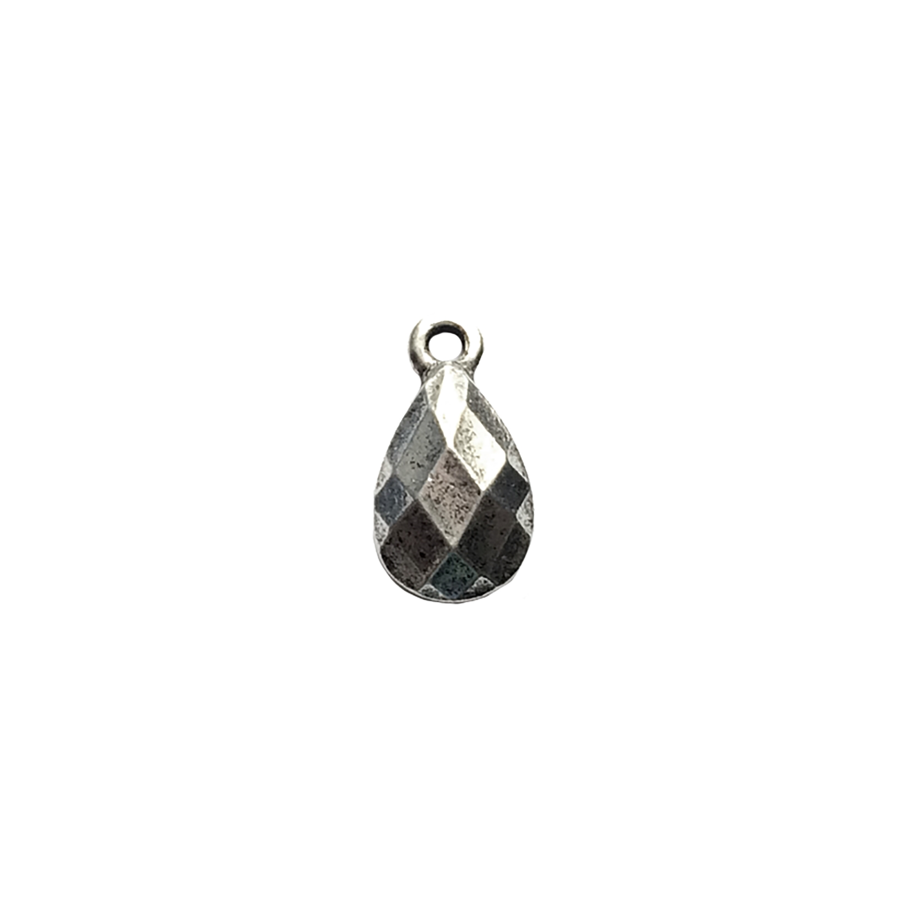 Victorian ear drop, jewelry charm, 02803, lead free pewter, B'sue by 1928, antique silver, vintage jewelry parts, pewter jewelry parts, nickel free finish,us made, 1928 Company, designer jewelry, B'sue Boutiques, old silver pewter