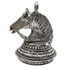 pewter horse pendant, old silver, 04886, 1928 Jewelry Company, pewter castings, horse pendant, recess horse pendant, 25 x 18mm mount, jewelry making supplies, vintage jewelry supplies, US made, nickel free, Bsue Boutiques, antique silver