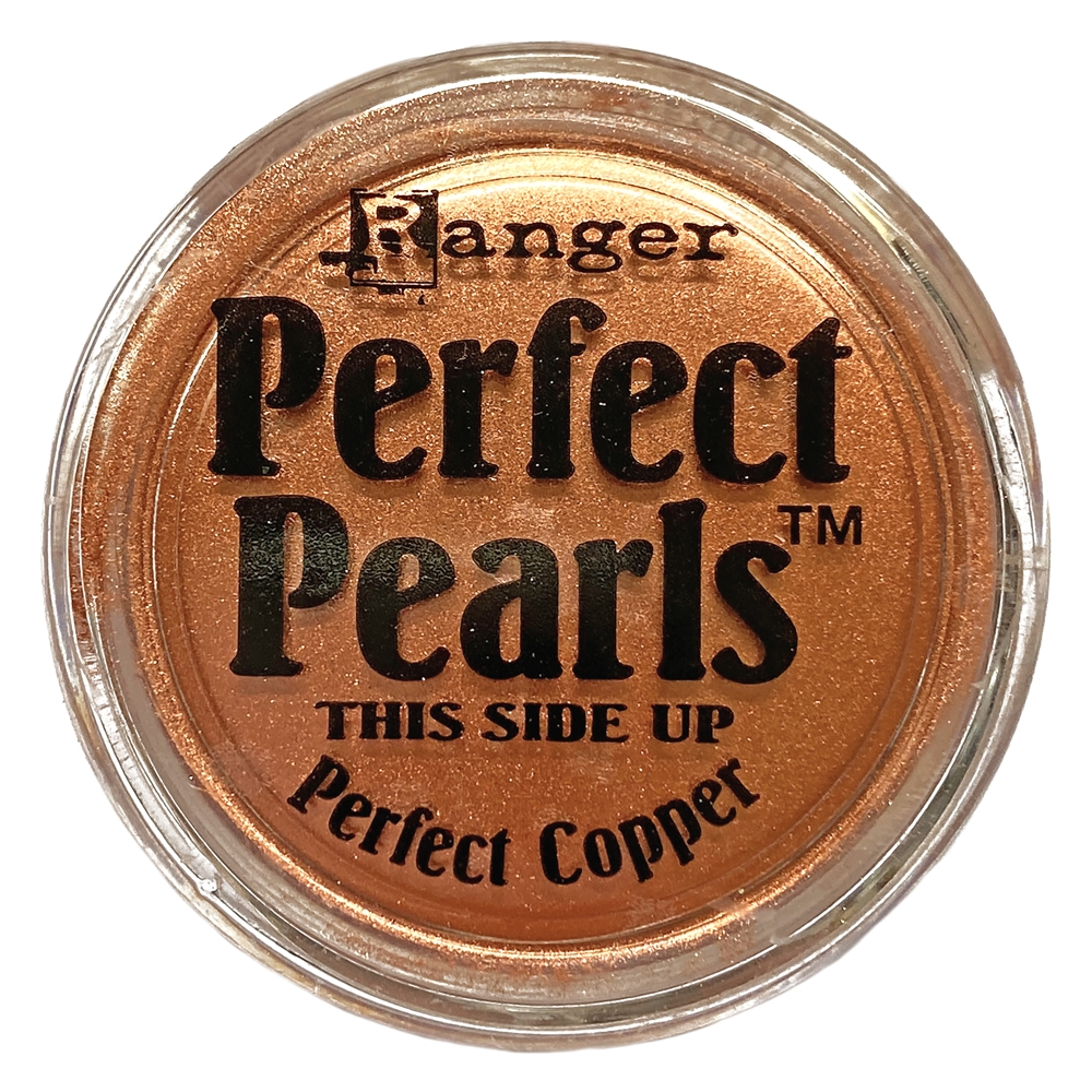 perfect pearl perfect copper, pigment powder, copper, jewelry making, powder pigment, mica powder, metallic, for fabric, for stampings, jewelry findings, jewelry powders, vintage supplies, jewelry supplies, US-made, B'sue Boutiques, 02433