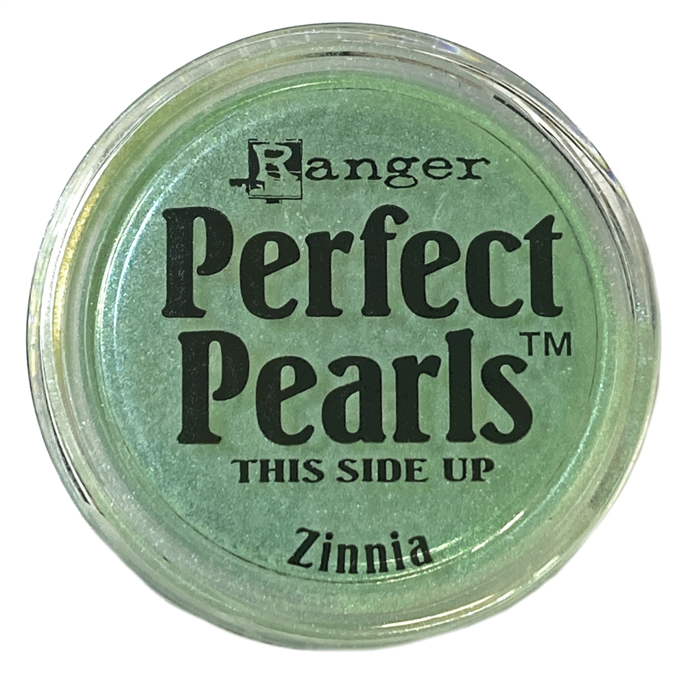 perfect pearl zinnia, pigment powder, zinnia, jewelry making, blue green, powder pigment, mica powder, metallic, for fabric, for stampings, jewelry findings, jewelry powders, vintage supplies, jewelry supplies, US-made, B'sue Boutiques, 05118