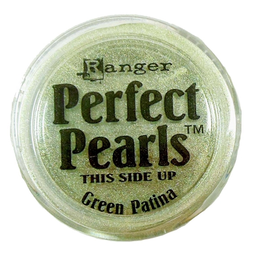 perfect pearl, pigment powder, green patina, jewelry making, bronze, powder pigment, mica powder, metallic, for fabric, for stampings, jewelry findings, jewelry powders, vintage supplies, jewelry supplies, US made, B'sue Boutiques, 0920