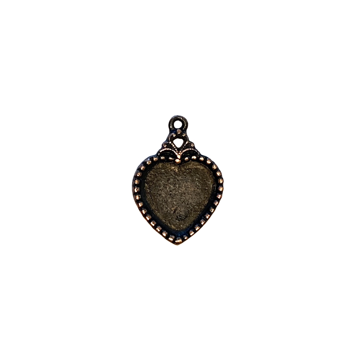 Vintage pewter castings bsue by 1928 heart pendants necklace larger photo email a friend aloadofball Image collections