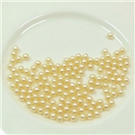 Creme Pearls, 2.5mm
