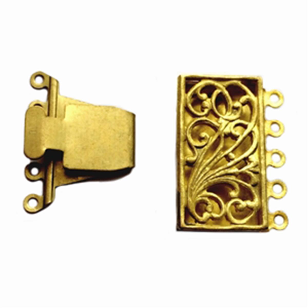 Vintage Glass /& Brass Steampunk  Bracelet