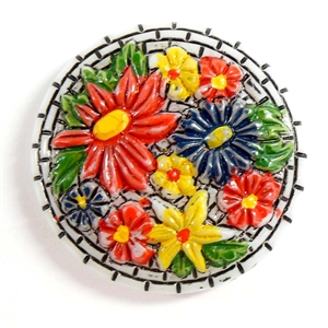 vintage cameos, floral glass cameos, 07659, ceramic flowers, B'sue Boutiques, vintage jewellery supplies, jewelry making, cornelian cameos,