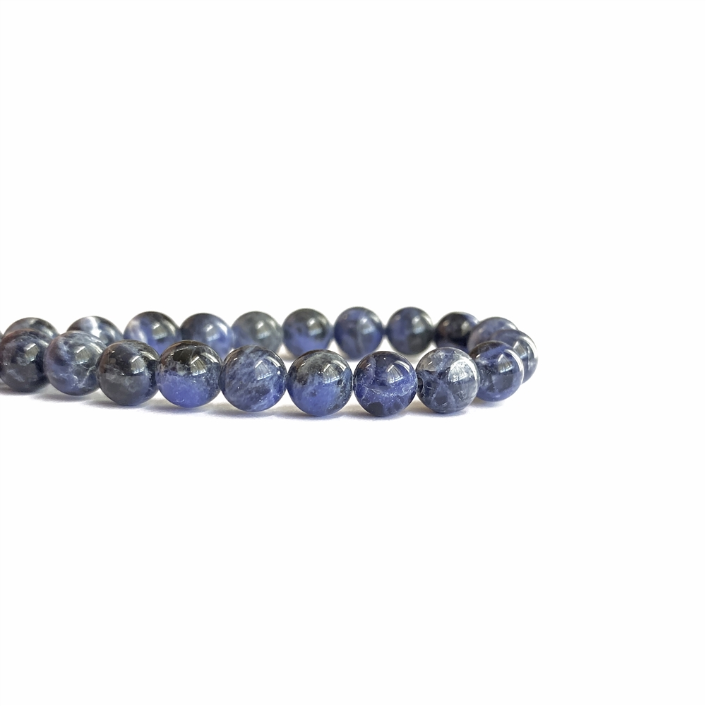 sodalite round beads, semi-precious, semi-precious beads, beads, sodalite beads, 7mm beads, round beads, stone beads blue beads, smooth beads, dark blue semi-precious beads, natural beads, jewelry making, beading supplies, vintage supplies, jewelry, 02468