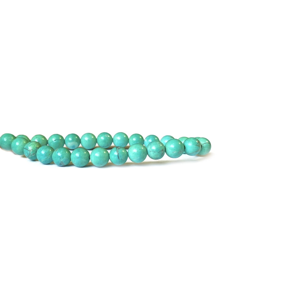 turquoise beads, semi precious beads, turquoise, brown, blue turquoise, beading supplies, turquoise blue beads, turquoise green beads, 4mm, natural beads, green, blue, white bands, stone beads, polished, US-made, B'sue Boutiques, jewelry bead, 02473