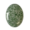 zing jiang jade cabochon, jade green cabochon, green cabochon, cabochon, semi-precious, natural stones, jade cabochon, jade, 40x30mm, gemstone, oval, Zing Jiang jade, beading supplies, jewelry making, jewelry supplies, B'sue Boutiques, Xing Jiang, 02618