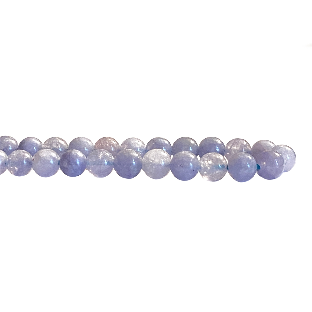 semi precious beads, tanzanite quartz beads, gemstone beads, stone beads, semi precious, natural beads, 6mm beads, B'sue Boutiques, 6mm semi precious beads, jewelry beads, beads, purple beads, quartz dyed beads, tanzanite beads, 02866