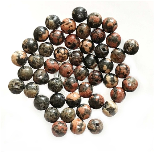 semi precious beads, jasper,red snowflake jasper, earth tones, natural stones, semi precious jasper beads, 4mm, jasper beads, sea sediment jasper, mixed color semi precious beads, stone beads, red semi precious beads,B'sue Boutiques, 03603