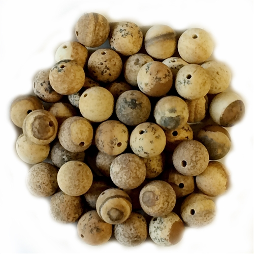 semi precious stone beads, jasper,landscape, jasper, landscape jasper, earth tones, natural beads with earth tones,  stone beads, jasper stones, 8mm jasper stones, 8mm stone beads, B'sue Boutiques, semi precious beads, landscape jasper beads, 03648