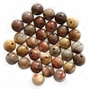 semi precious stone beads, jasper, birdseye rhyolite jasper, rainforest jasper, earth tones, natural beads with earth tones, stone beads, jasper stones, 6mm, 6mm stone beads, B'sue Boutiques, semi precious beads, birdseye jasper beads, 03655