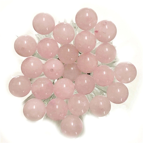 semi precious stone beads, rose quartz, 10mm, earth tones, natural beads with earth tones, stone beads, 10mm stone beads, B'sue Boutiques, semi precious beads, jewelry making, jewelry beads, vintage supplies,03723