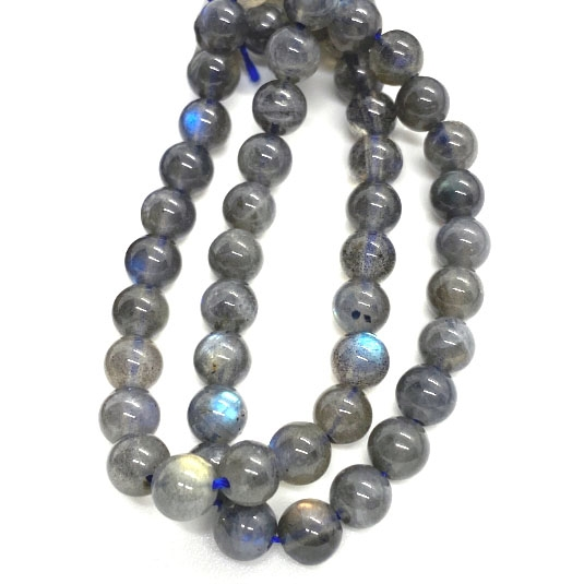triple A grade, AAA, labradorite beads, smooth round beads, labradorite, natural beads, 6mm, beads, semi-precious beads, stone beads, jewelry making, jewelry supplies, vintage supplies, B'su Boutiques, 03793