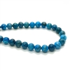 crazy lace stone, dyed deep blue, semi precious stones, 03795, agate, 6mm, dyed natural stones, semi precious, semi precious gemstones, natural, lace agate, crazy lace agate, jewelry making, jewelry supplies, smooth round beads