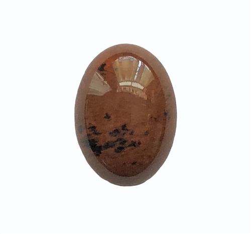 red obsidian stone, semi precious stone, red obsidian, oval, focal stone, 18x13mm stone cabochon, cabochon stone, natural stone, red brown, semi precious cabochon, 18x13mm, cab stone, B'sue Boutiques, jewelry stone, stone, obsidian, red, 05217