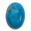 semi precious stones, turquoise, turquoise focal stone, 18x13mm stone cabochon, cabochon stone, natural stone, dyed howlite, turquoise blue, blue matrix stone, semi precious cabochon, 18x38mm, cab stone, B'sue Boutiques, cabochon, 05220