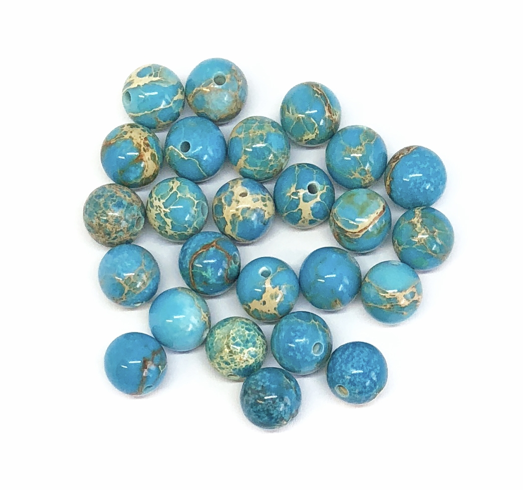 beads gemstone jewellery round gems sodalite matte blue perfect