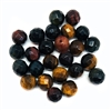 semi precious stone beads, tiger eye, earth tones, natural beads with earth tones,  stone beads, tiger eye stones, 6mm tiger eye stones, 6mm stone beads, B'sue Boutiques, semi precious beads, tiger eye beads, 05239