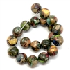 semi precious stone beads, jasper, mixed impressions jasper, colorful jasper, stone beads, multi-color jasper stones, 10mm jasper stones, 10mm stone beads, B'sue Boutiques, semi precious beads, 10mm, 07949