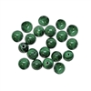 malachite bead, semi precious bead, green, white, 6mm, cabochon, natural beads, semi precious beads, gemstone, round, malachite, green malachite, malachite green, glossy shine, beads us made, B'sue Boutiques, jewelry beads, 08033