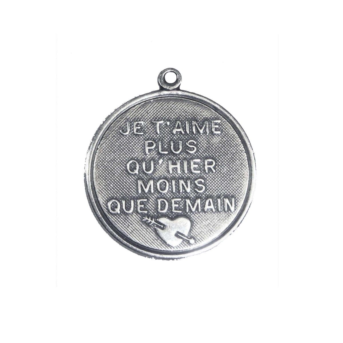 French charms je taime silverware antique silver brass charms french charms je taime silverware antique silver brass charms vintage jewelry supplies jewelry making supplies aloadofball Choice Image