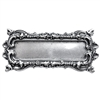 brass frames, brass bezel, antique silver, 0340, vintage jewelry supplies, brass jewelry parts, jewelry findings, silverware silverplate, black antiquing, furniture accents, jewelry making supplies,