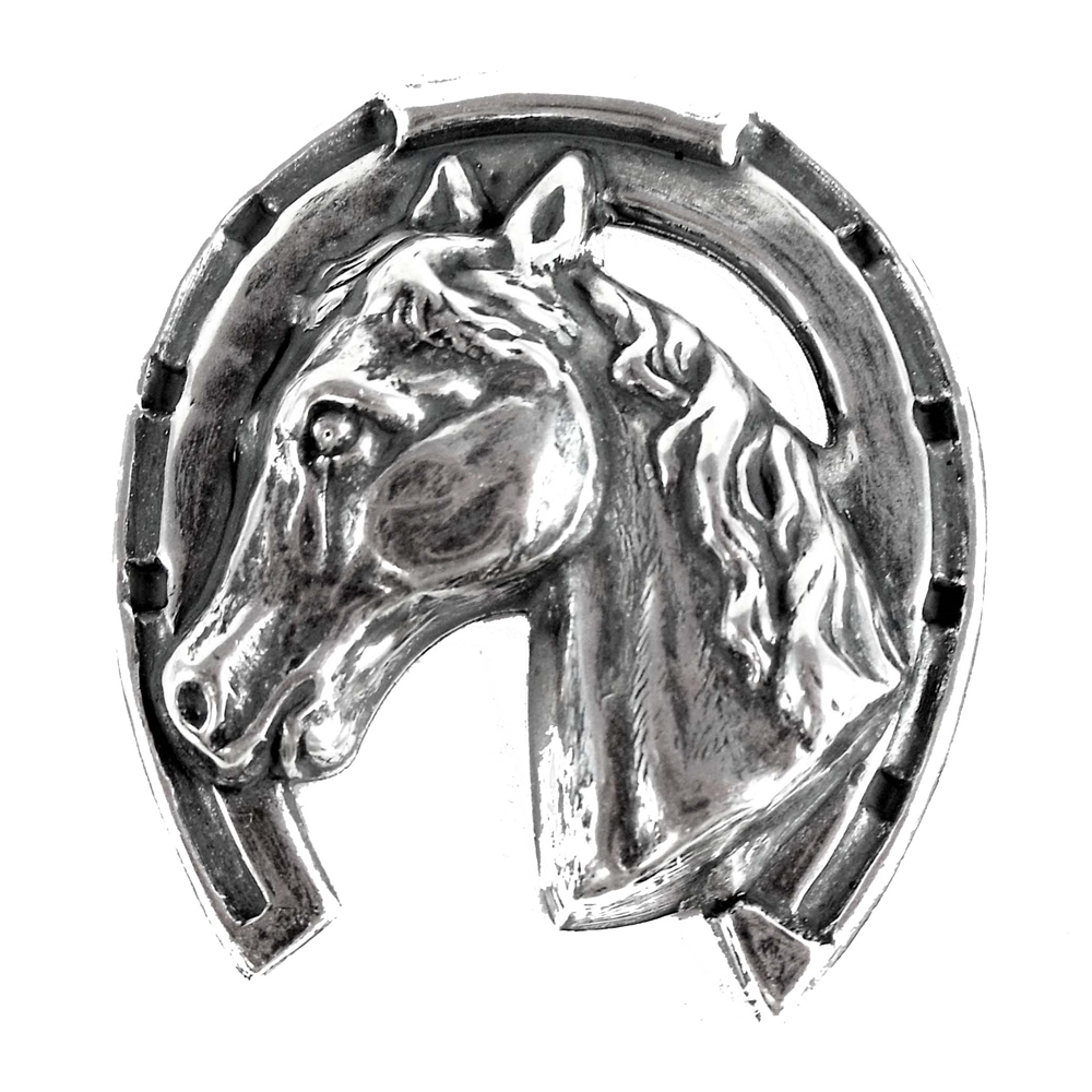 silver horse, horseshoe, 06665, silverware silverplate, silverplate, horse head, cowboy, western, western theme, wild west, jewelry making, jewelry supplies, Bsue Boutiques, silver horseshoe, silver stamping, horse stamping, centerpiece