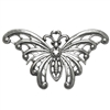 brass butterflies, jewelry making, antique silver, 06761, silverware silver plate, jewelry making supplies, vintage jewelry supplies, US made, nickel free jewelry supplies, bsueboutiques, black antiquing