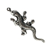 brass salamander, lizards, jewelry making, 08987, silverware silverplate, antique silver, B'sue Boutiques, nickel free jewelry supplies, vintage jewelry supplies, lizard charms
