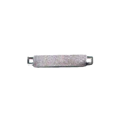 Bracelet Bar, Connectors, Silverware Silverplate, 6 x 32mm